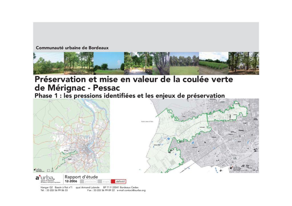 Environnement et paysage productions a 39 urba agence d for Agence urbanisme paysage bordeaux