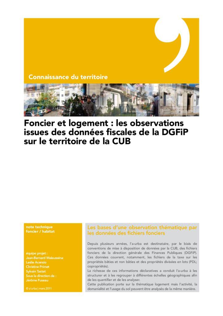 Foncier et logement a 39 urba agence d 39 urbanisme bordeaux for Agence urbanisme paysage bordeaux