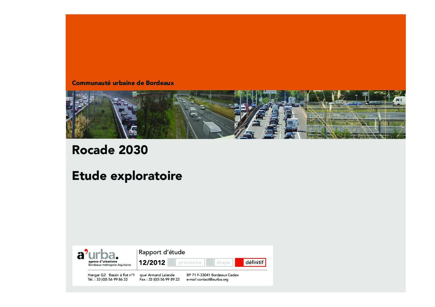 Rocade 2030 a 39 urba agence d 39 urbanisme bordeaux for Agence urbanisme paysage bordeaux