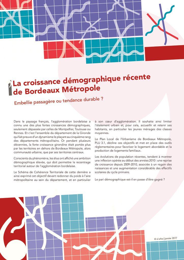 Portraits d mographiques a 39 urba agence d 39 urbanisme for Agence urbanisme paysage bordeaux