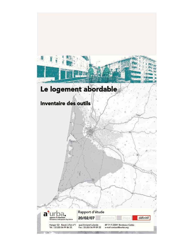 Populations et modes de vies productions a 39 urba for Agence urbanisme paysage bordeaux
