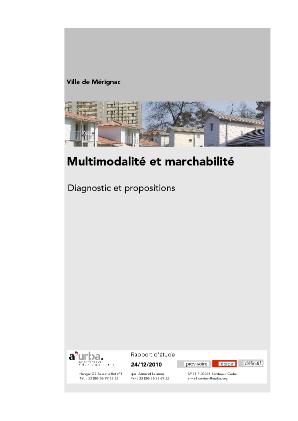 Multimodalit et marchabilit m rignac a 39 urba agence for Agence urbanisme paysage bordeaux